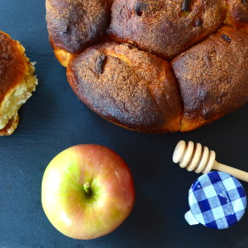 """Apples and Honey"" Challah for Rosh Hashanah. So good, your guests will love it and ask you: May I Have That Recipe?"