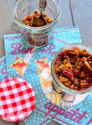 Spiced Savory Granola Popping with Flavor