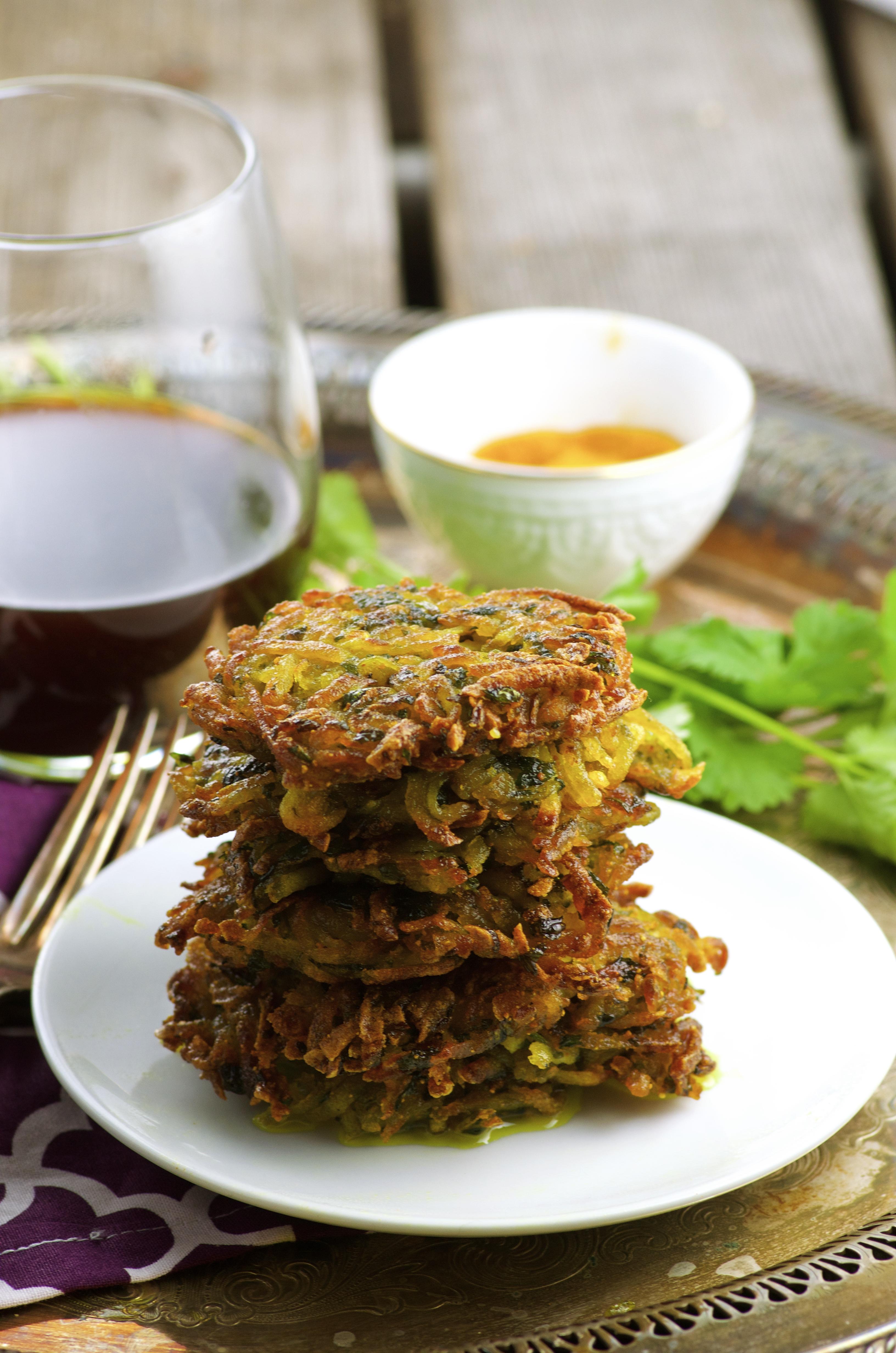 Vegan potato latkesMay I Have That recipe