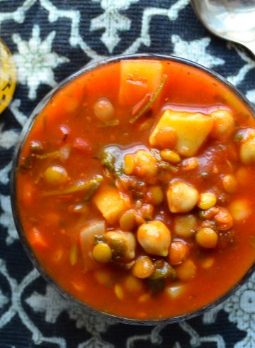 Meatless Monday – Moroccan Style Vegetable Soup – Harira