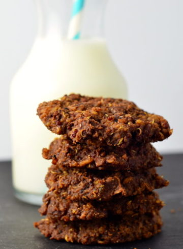 "Good-Enough-For-Breakfast ""Power"" Cookies (Vegan)"
