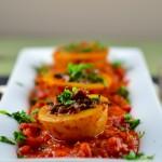 mushroom stuffed potatoes #glutenFree #vegan #passover #vegetarian #kosher