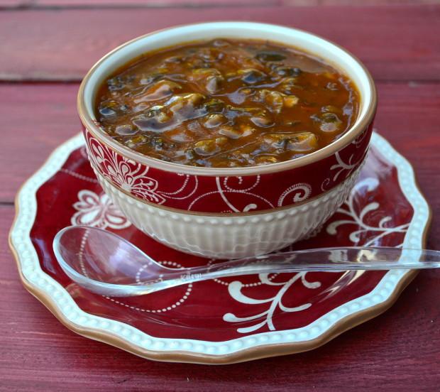 Mushroom Gravy #vegan #mushroom #gravy #vegetarian #thanksgiving #kosher #Parve