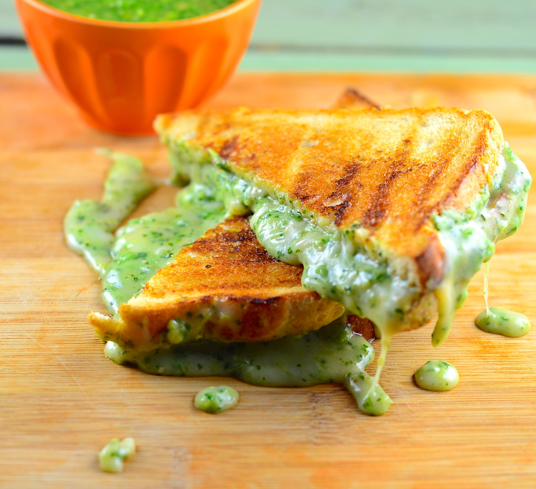 Smoky Jalapeno Grilled Cheese With Tomatillos Recipes — Dishmaps