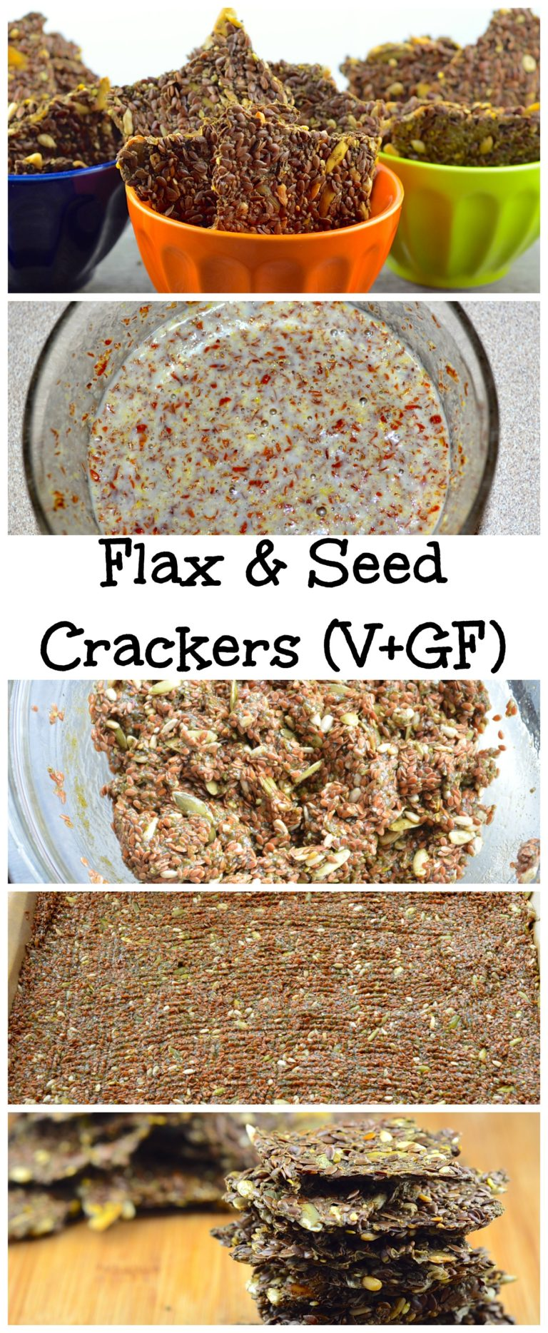 This Low Carb Flax and Chia Seed Crackers are paleo, vegan, gluten free and will satisfy your craving for crunchy foods when you are on a low carb diet.