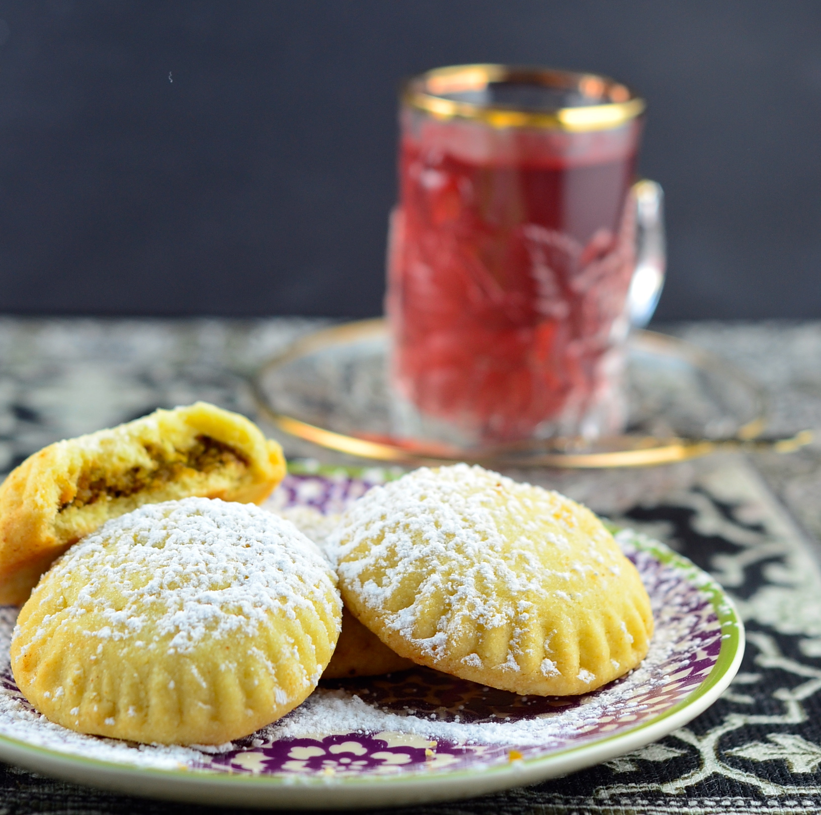 Maamoul – Nut Filled Middle Eastern Cookies