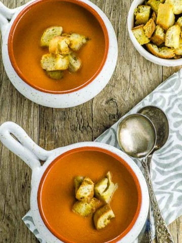 Nothing like a cold and refreshing bowl of authentic Spanish Gazpacho to cool off this summer.