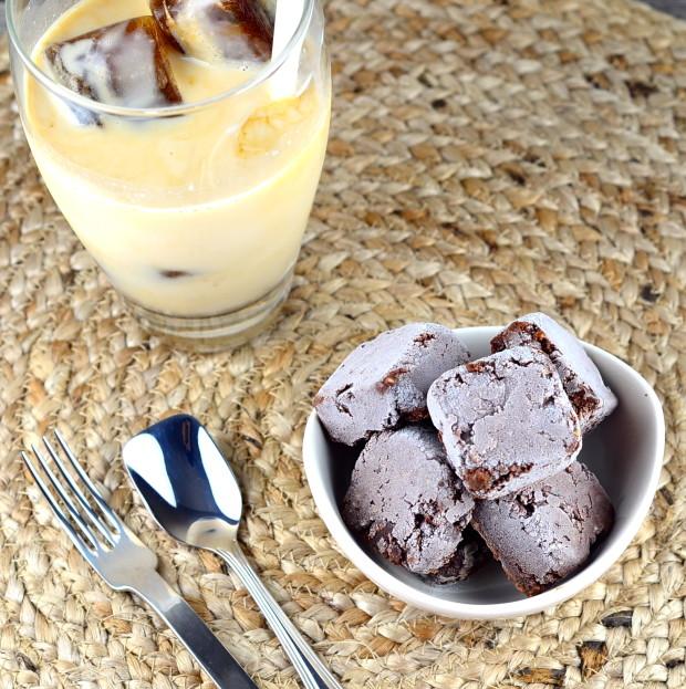 frozen brownie bites