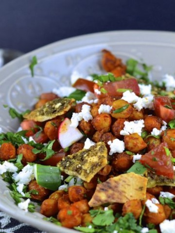 Salad Bowl with Tahini dressing