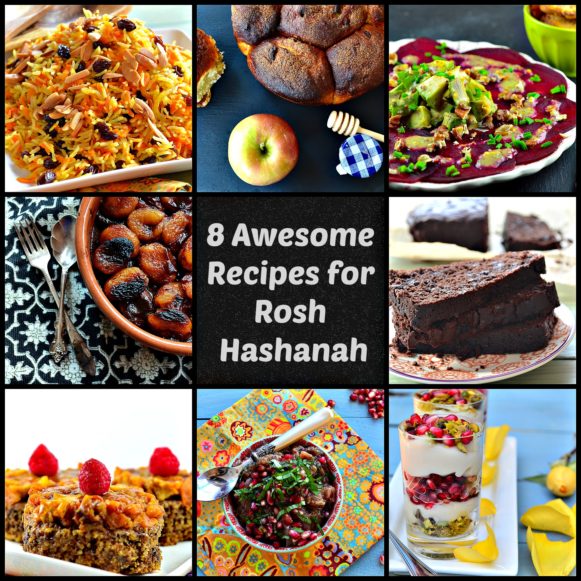 8 Awesome Rosh Hashanah Recipes