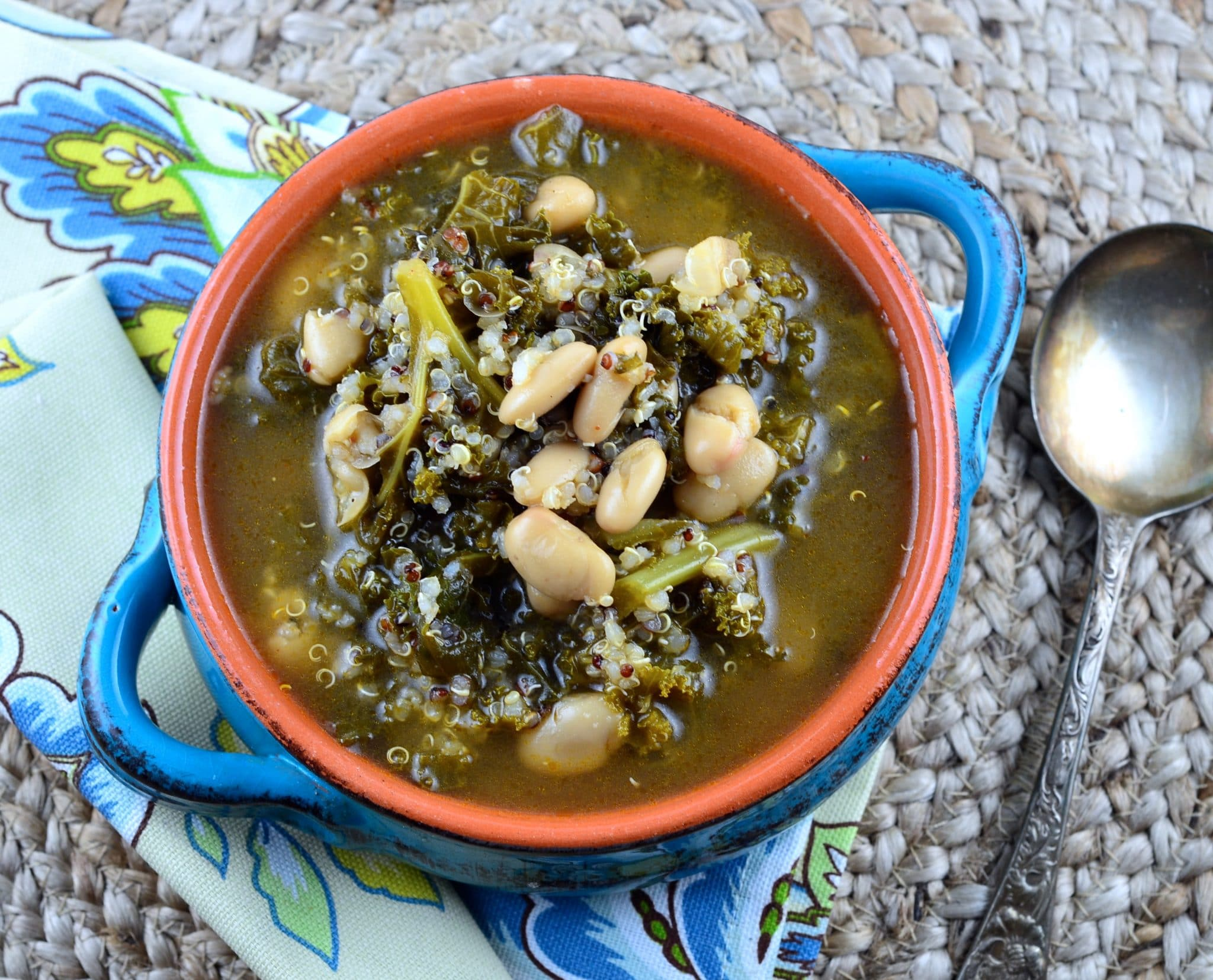 Meatless Monday - Kale & Cannellini Bean Soup - May I Have That Recipe