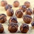 Raw cocoa, nut & berry truffles. #truffles #cocoa #goji berries, #Chia Seeds, #cocoa nibs, #vegan # gluten Free #kosher