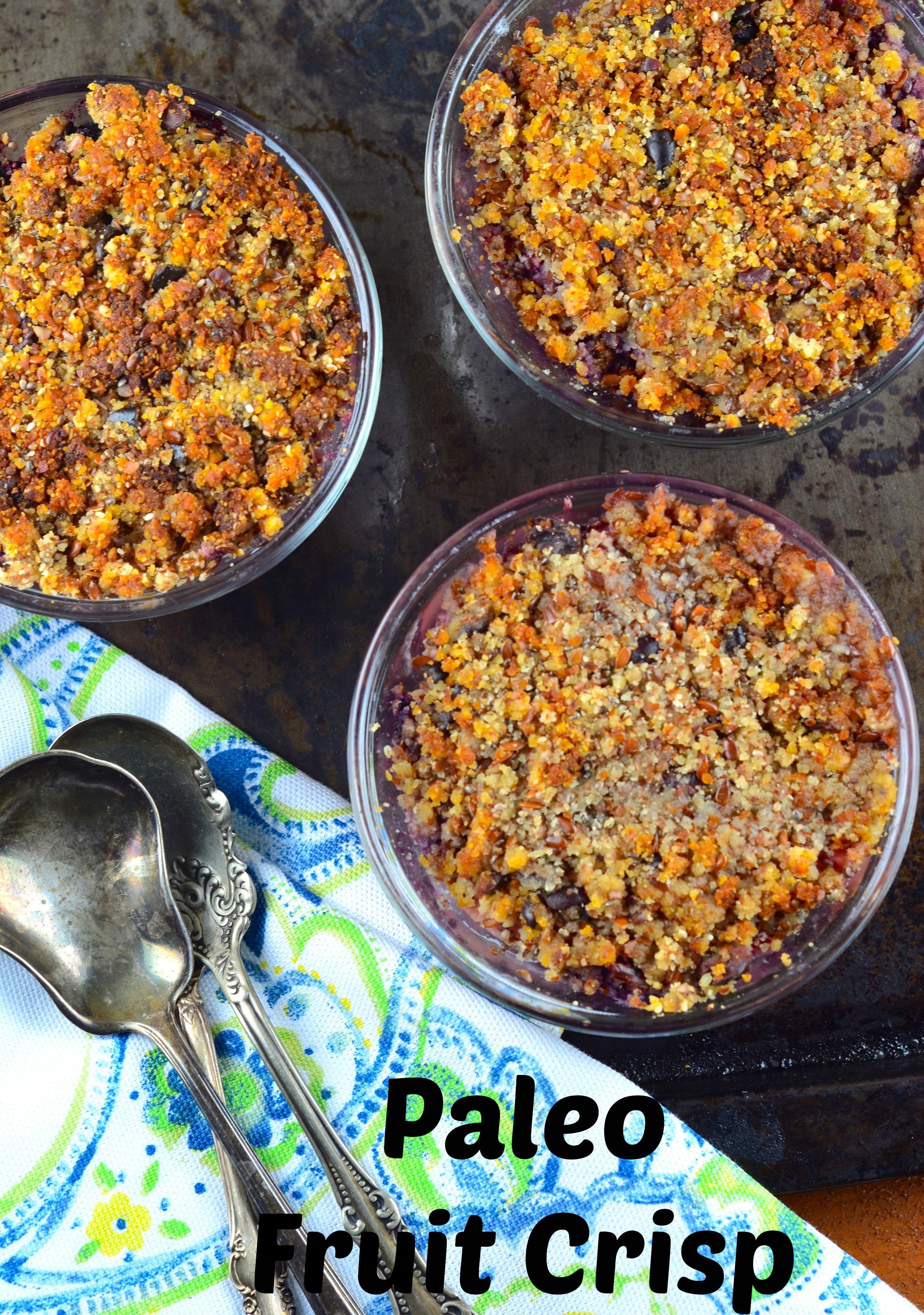 Paleo Style Fruit Crisp