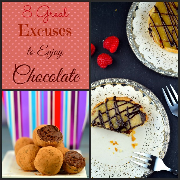 8 great excuses to enjoy chocolate #valentines #chocolate