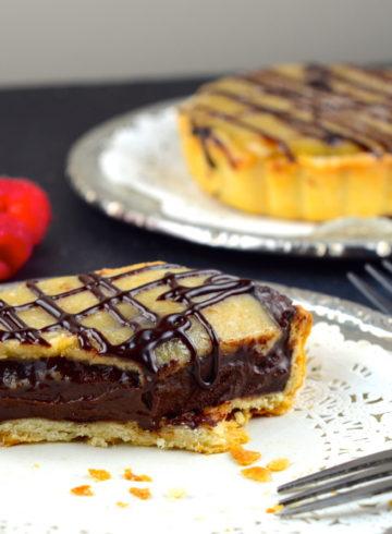 Vegan Salted Caramel & Chocolate Tartelettes