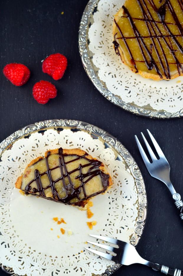 Vegan Salted Caramel Chocolate Tartelettes - #GO Veggie! #Vegan #Valentines #Chocolate #Caramel