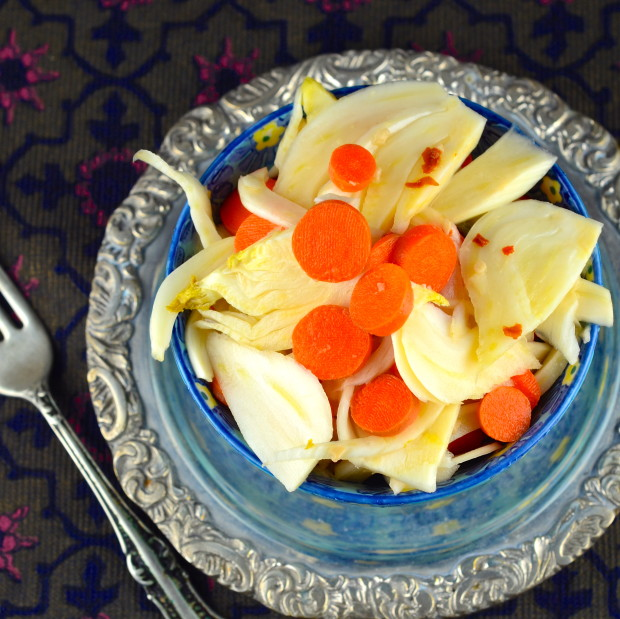 Pickled fennel and carrots #glutenFree, #Vegan #vegetarian #kosher #paleo