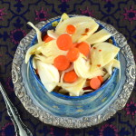 Pickled Fennel and Carrots # glutenFree #Vegan #Vegetarian #paleo