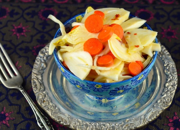 pickled fennel and carrots #GlutenFree #vegan #vegetarian #paleo #kosher