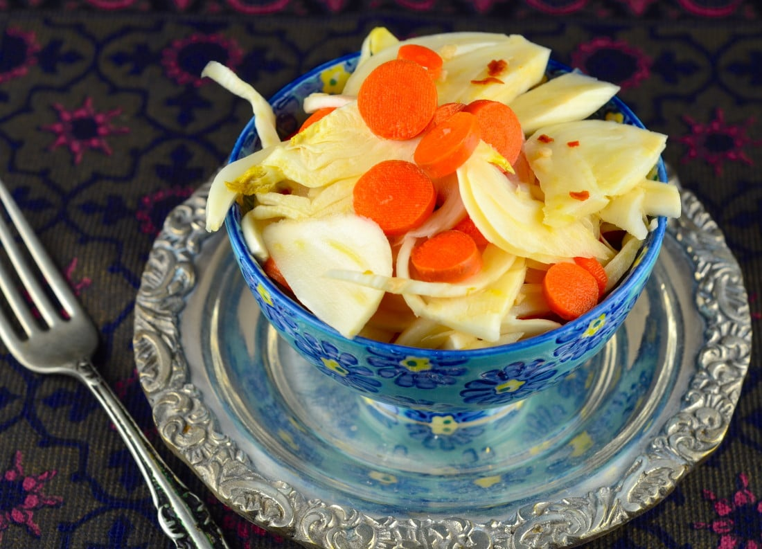 Pickled Fennel and Carrots