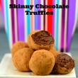 Skinny chocolate truffles #chocolate #passover #recipes #guiltFee #skinny #greekYogurt #kosher #shavuot #recipes