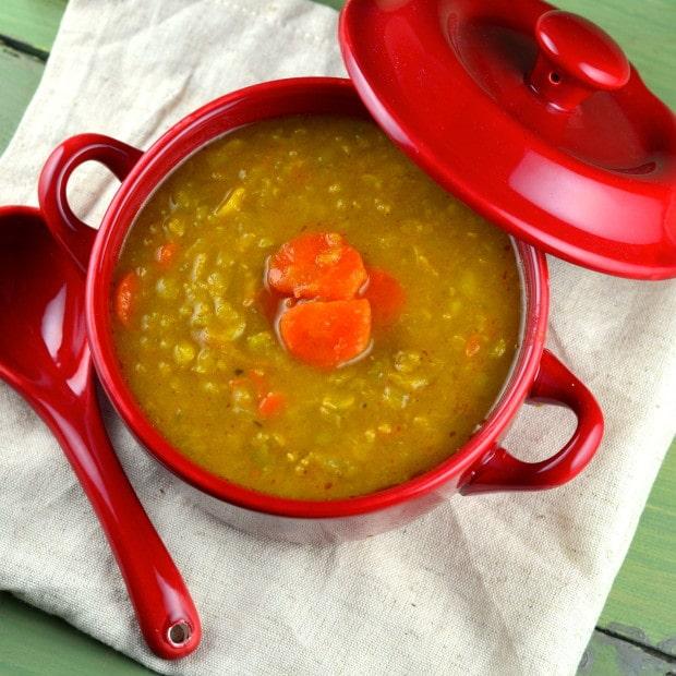 Vegan Split Pea Soup - May I Have That Recipe