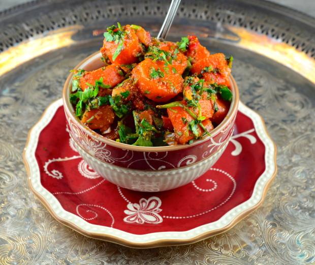 Moroccan Carrot Salad #sharesabra #Vegan #GlutenFree #passover