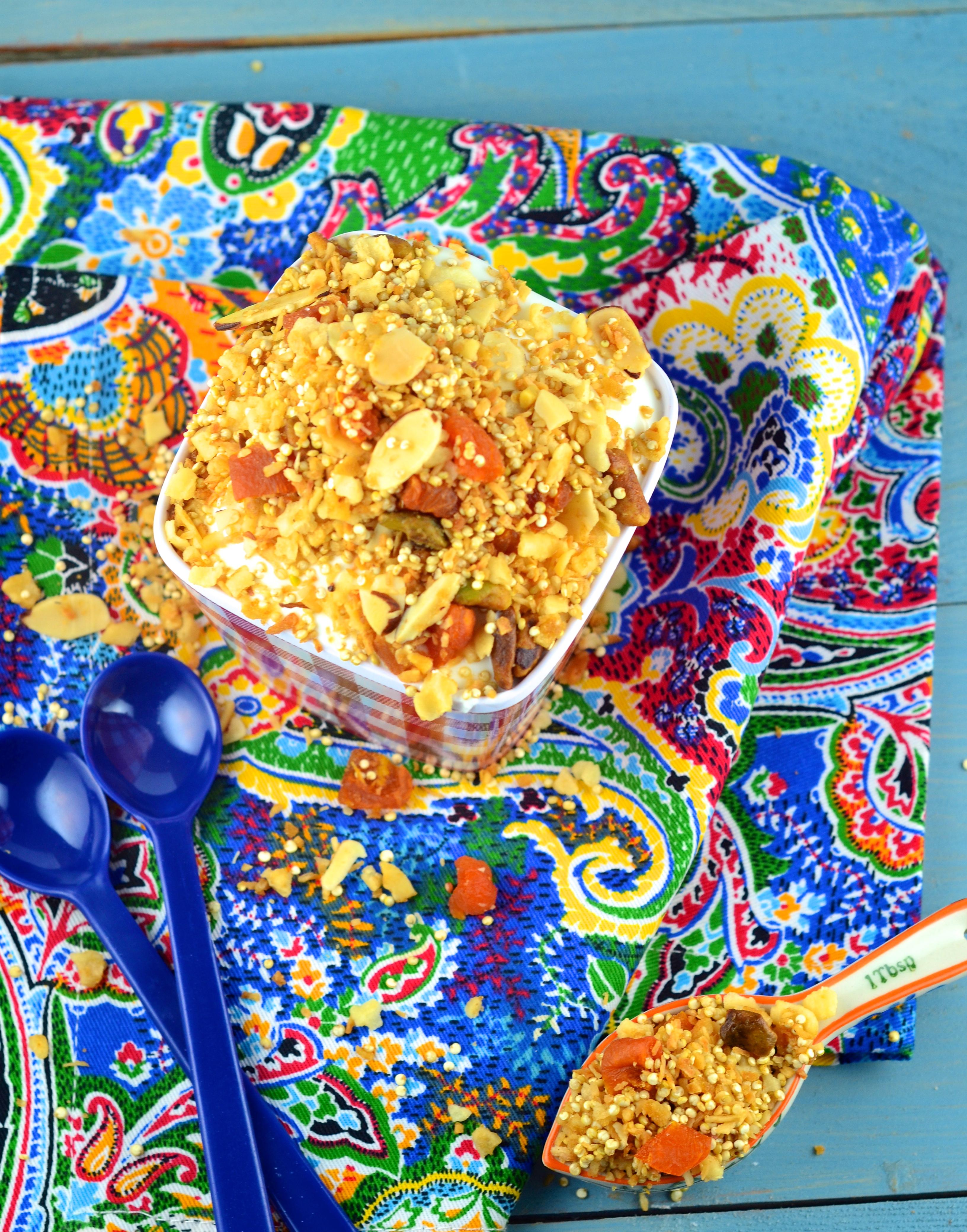 Matzo Granola With Apricots And Pistachios Recipes — Dishmaps