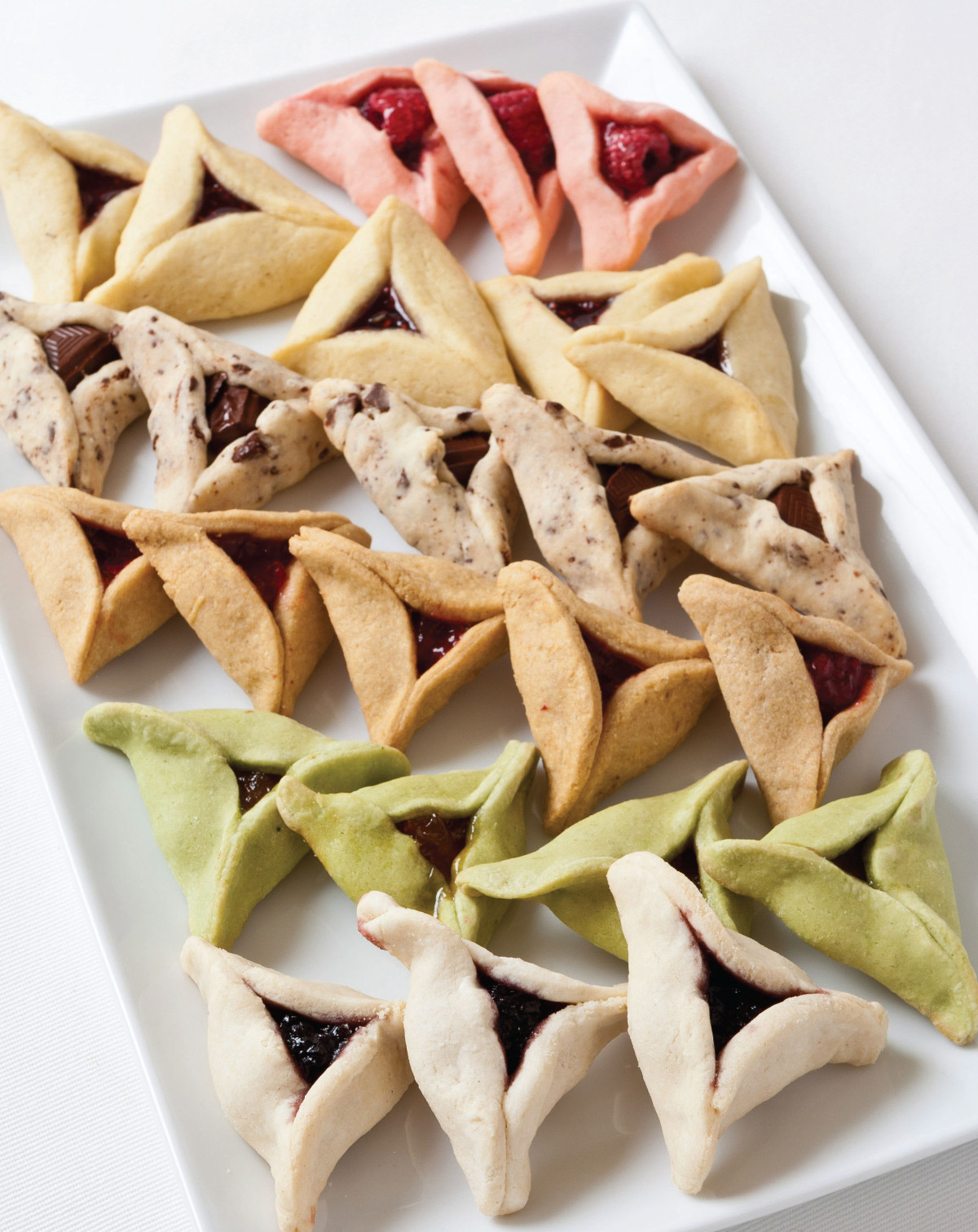 Vanilla Bean Hamantaschen &  Cookbook Giveaway