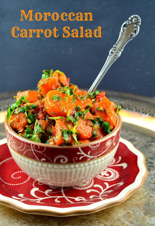 Moroccan Carrot Salad #sharesabra #Vegan #GlutenFree #passover #kosher