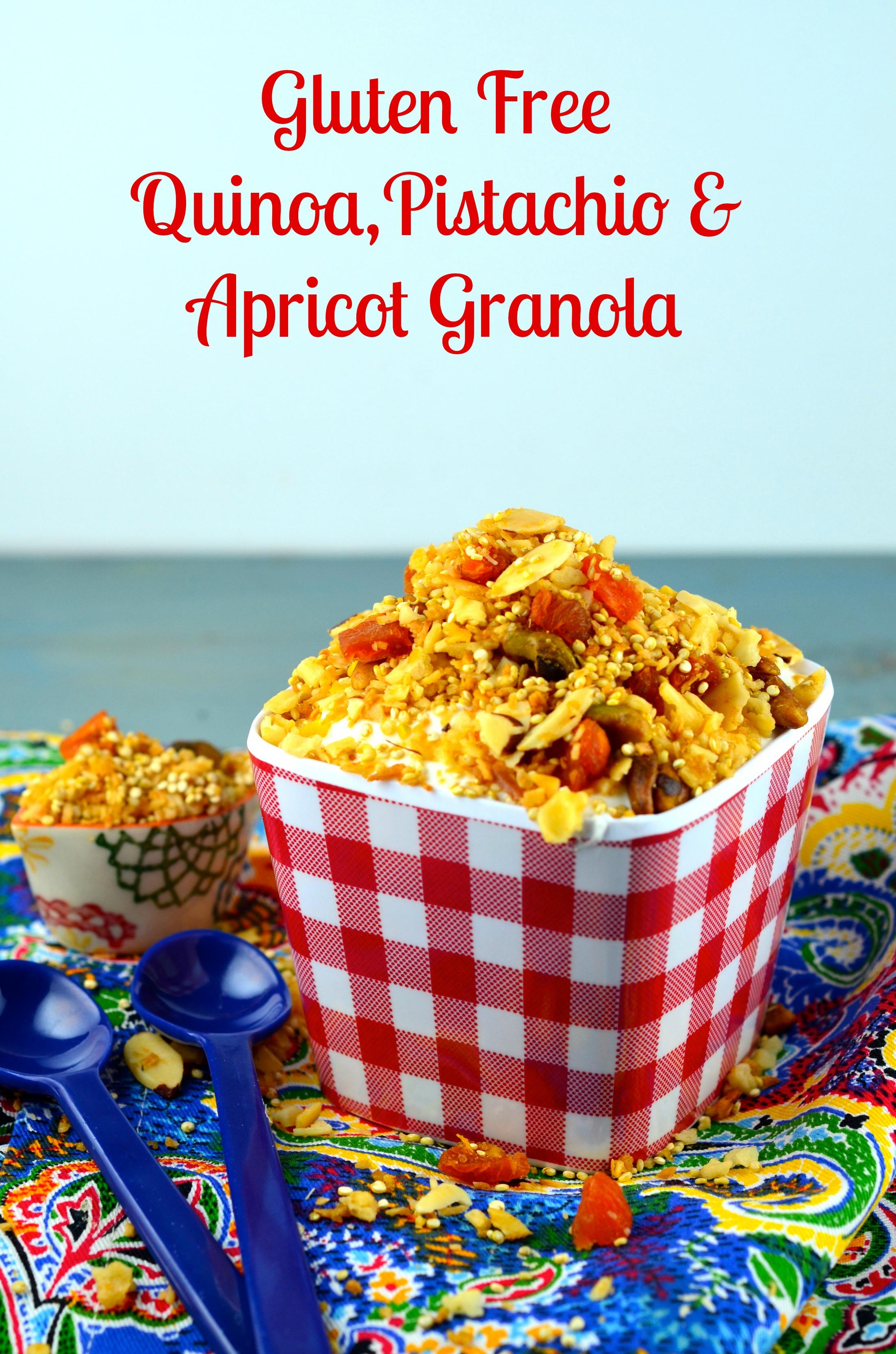 ... Pistachio, Almond & Apricot Quinoa Granola | May I Have That Recipe