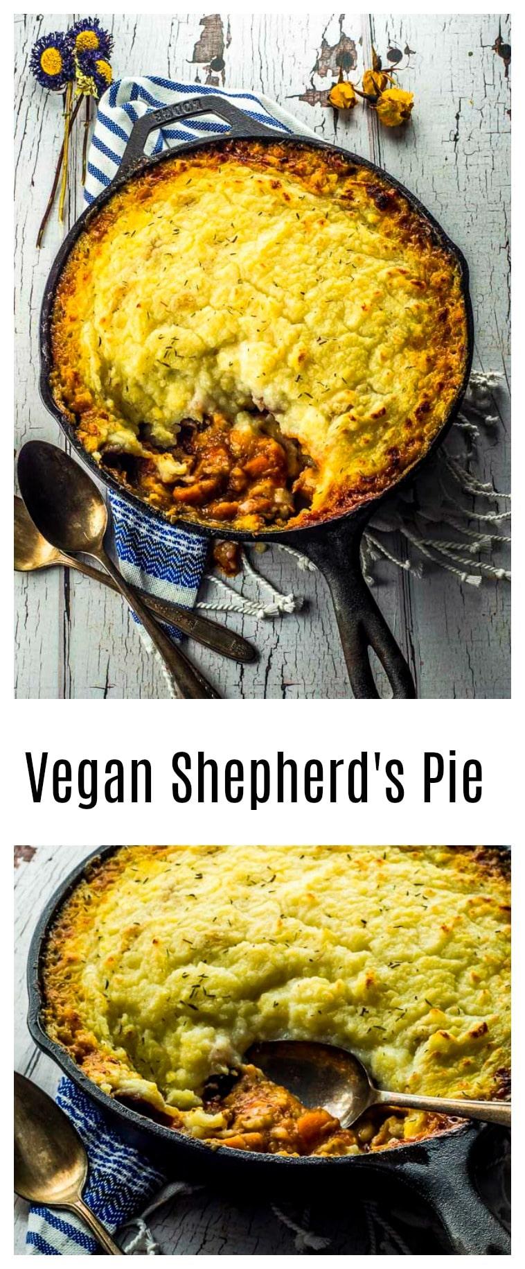 This Vegan Shepherd's Pie, is the ultimate vegan comfort food. Warm, delicious, comforting.
