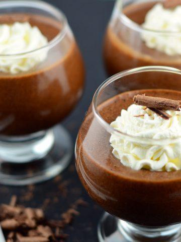 chocolate hazelnut mousse #eggs #safeEggs #pasteurized #dessert #Chocolate #nutella #mousse #kosher #vegetarian #protein #decadent