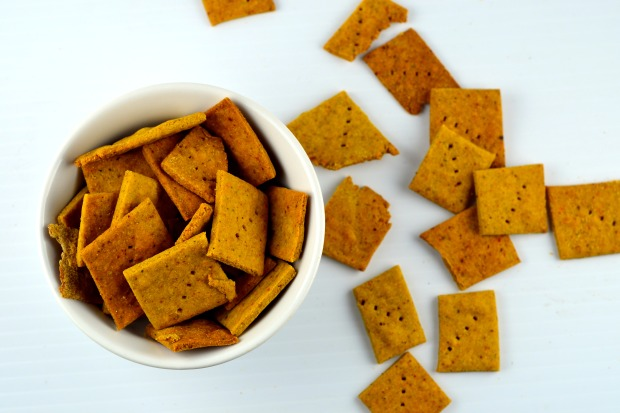 GF Falafel Crackers - #Gluten Free #vegan #crackers #kosher #snack #falafel