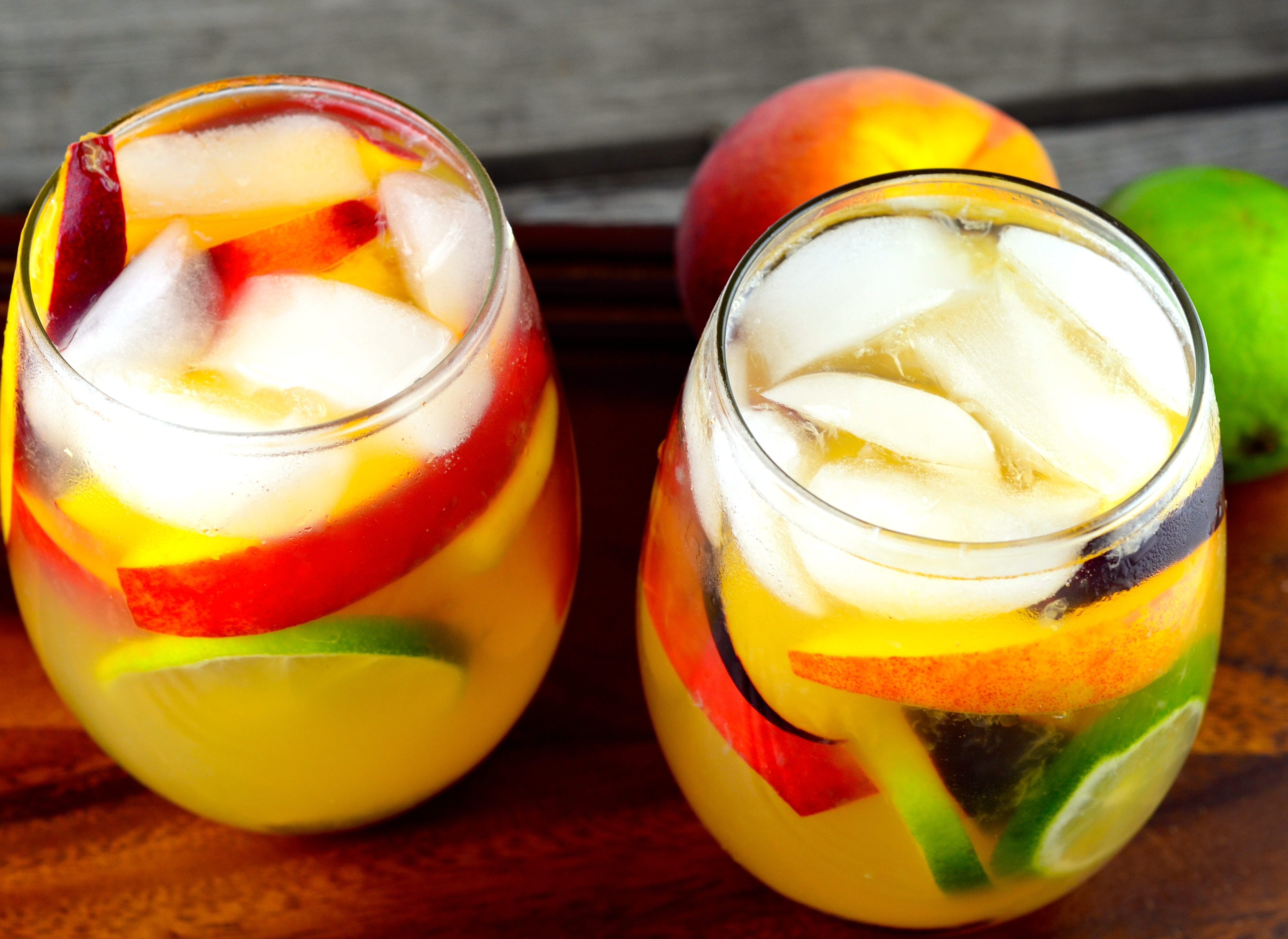 Summery Passion Fruit Sangria