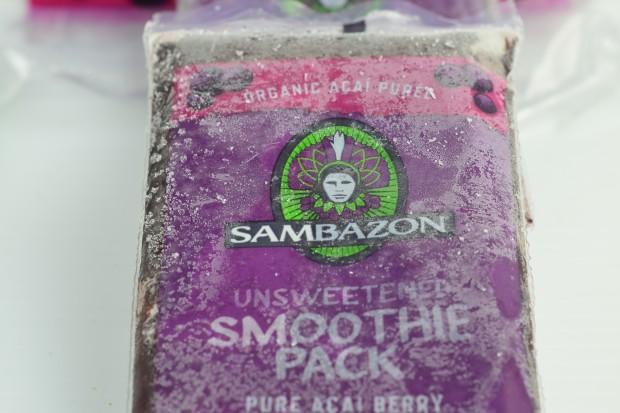 Sambazon frozen smoothie packs #sambazon #açai #açai bowls #smoothies