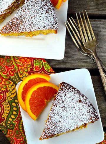 Orange Honey Almond Cake
