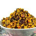 Jeweled Quinoa & Wild Rice #GlutenFree #Vegan #Side #vegetarian #Roshashanah #Tanksgiving #holidays
