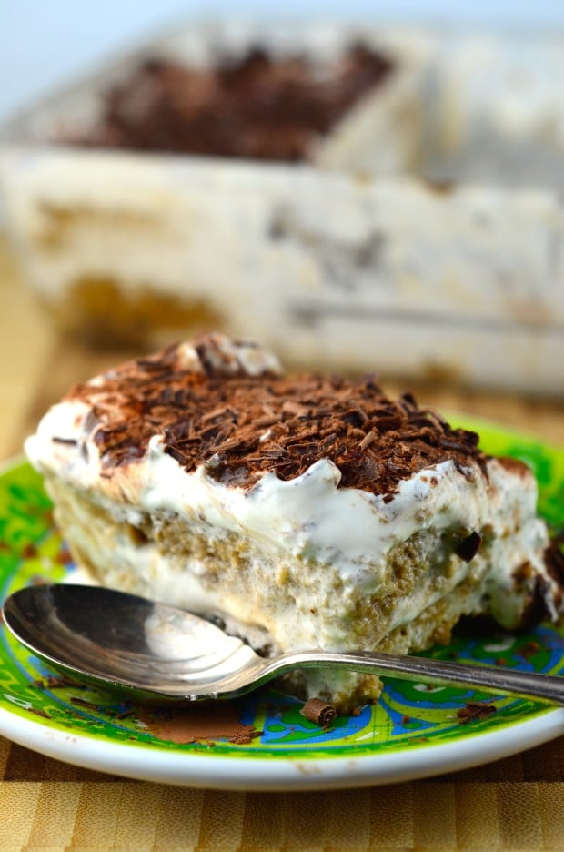 Vegan Tiramisu #dessert #tiramisu #vegan #coffee #holidays #chocolate