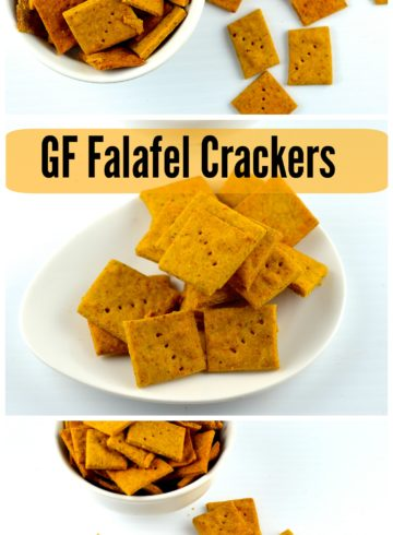Gluten Free Falafel Crackers