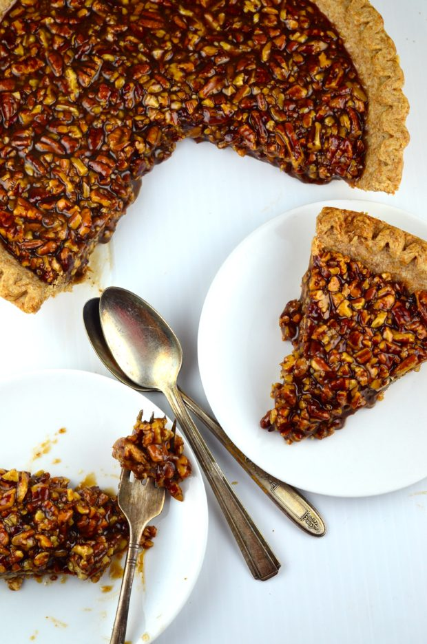 Bourbon Pecan Pie - Probably the most expensive pie we ever made #Pie ...