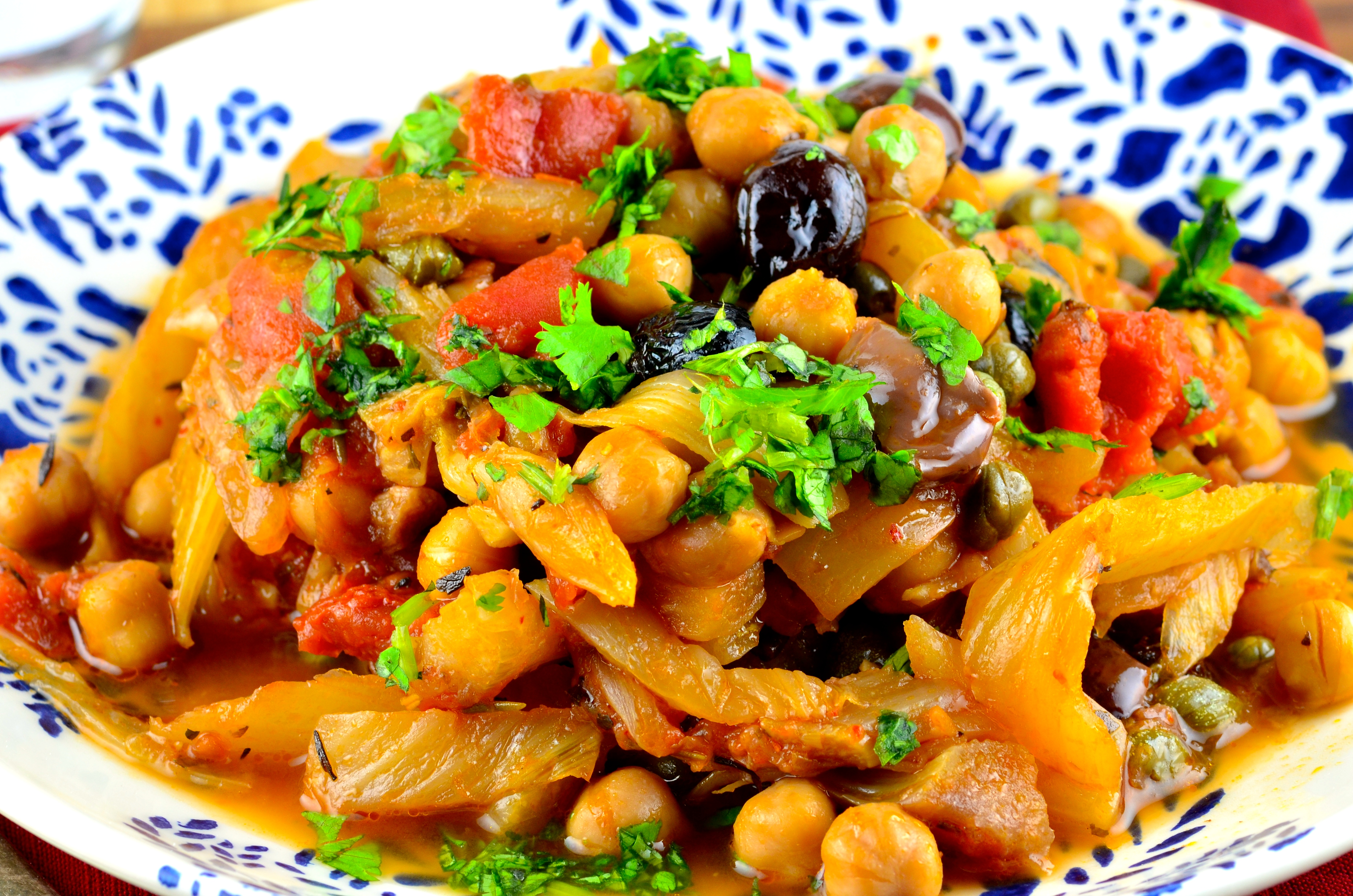 Meatless Monday – Fennel & Chickpeas Provençal