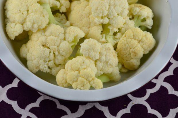 Vegan Cauliflower Gratin #vegan #cauliflower #vegetarian #entree #Cheese #kosher #gluten free