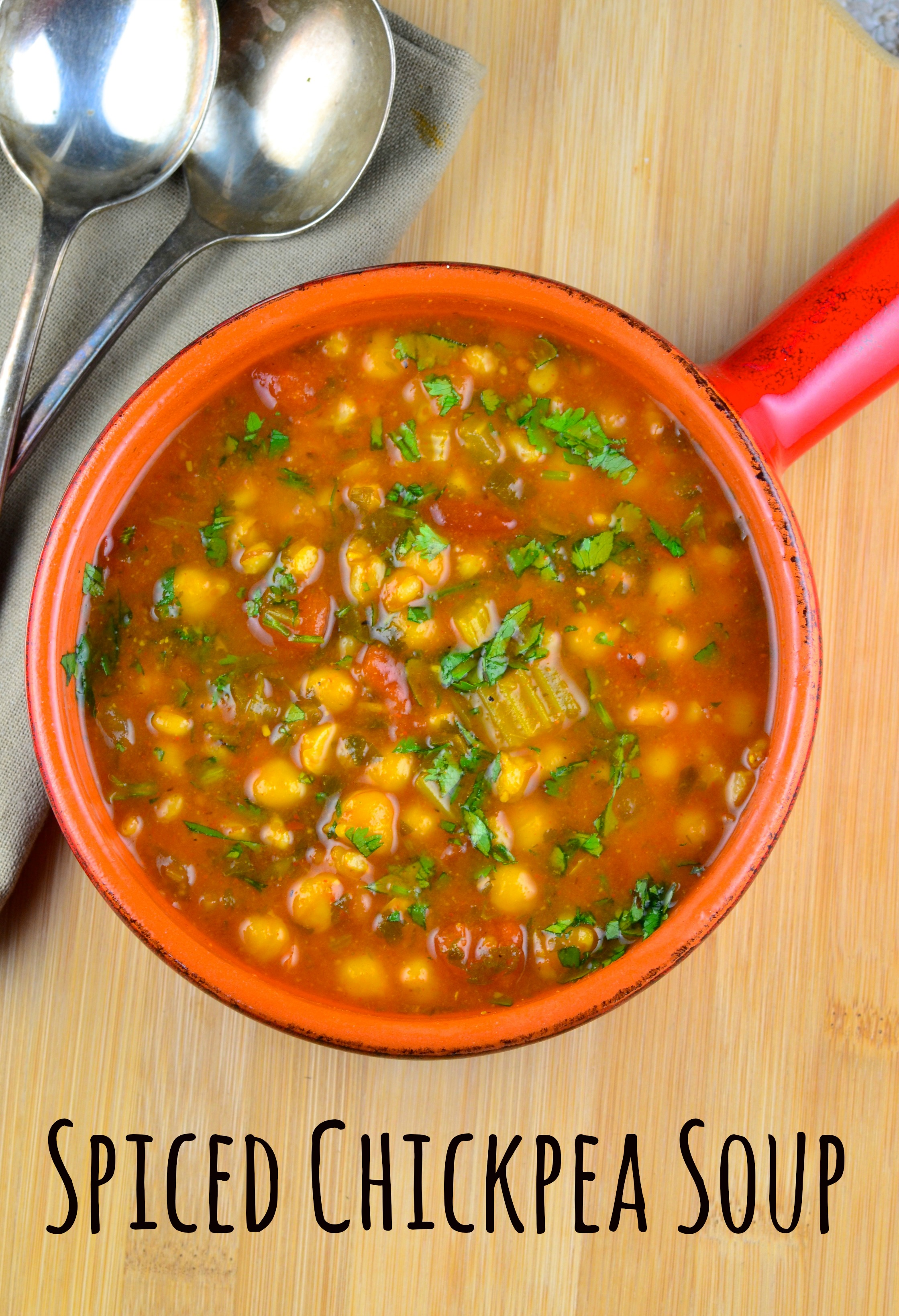 Chickpea & Wheat Berry Soup