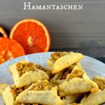 Celebrate Purim in Style with an orange blossom and walnut Hamantaschen #purim #Hamantaschen #cookies #kosher