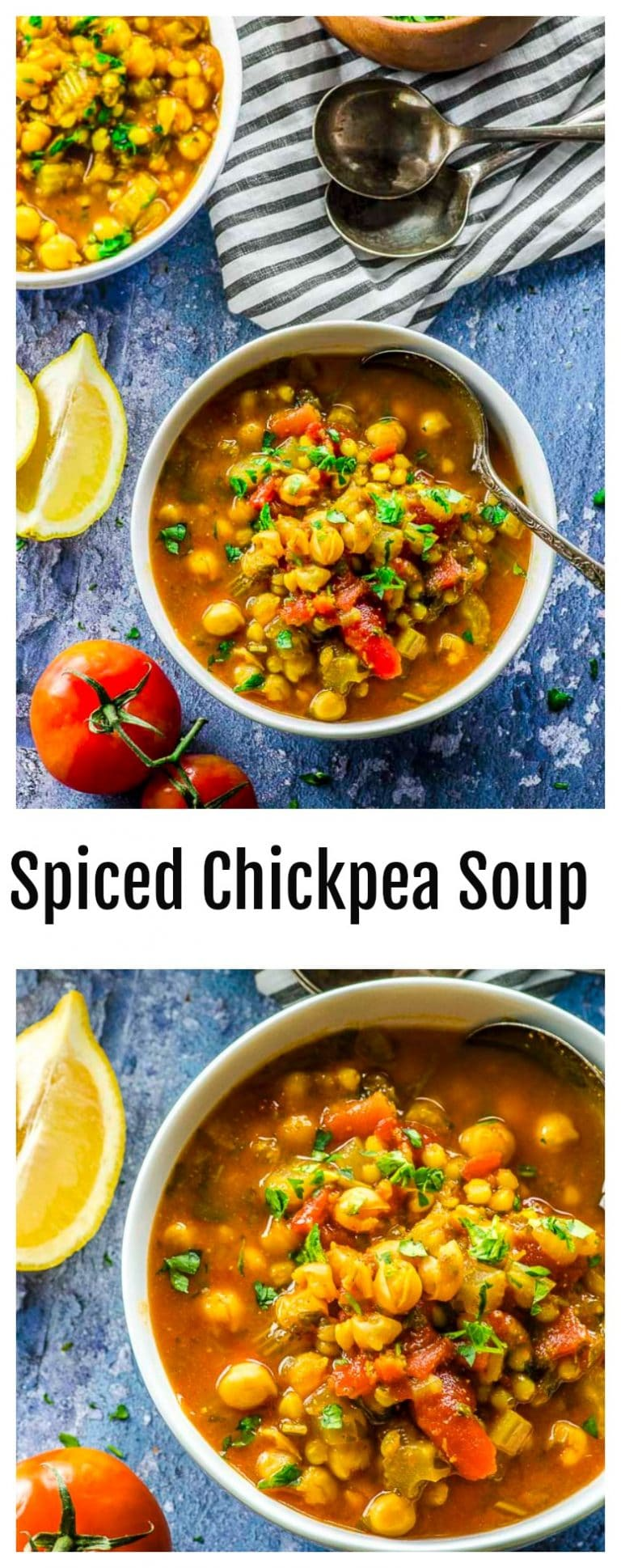 This satisfying and body-warming Wheat Berry and Chickpea Soup features the humble and antioxidant-rich chickpea, making it your best defense against flu and cold season.