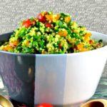Quinoa Tabbouleh - #passover #quinoa #tabbouleh #salad #healthy #kosher #vegan #vegetarian