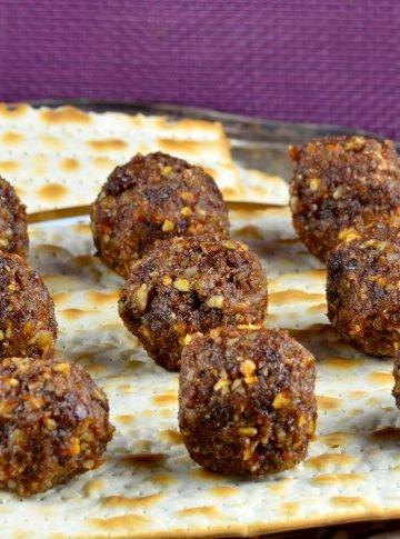 Not Just for Passover Recipes: Sephardic Style Haroset Bites