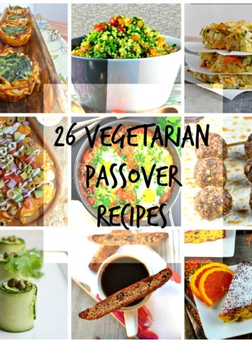 26 Amazing Vegetarian Passover Recipes You'll Want To Make All Year Round