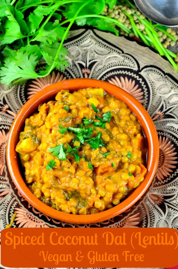Vegan Spiced Lentils Recipe — Dishmaps